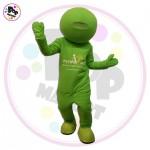 Maskota Green dude